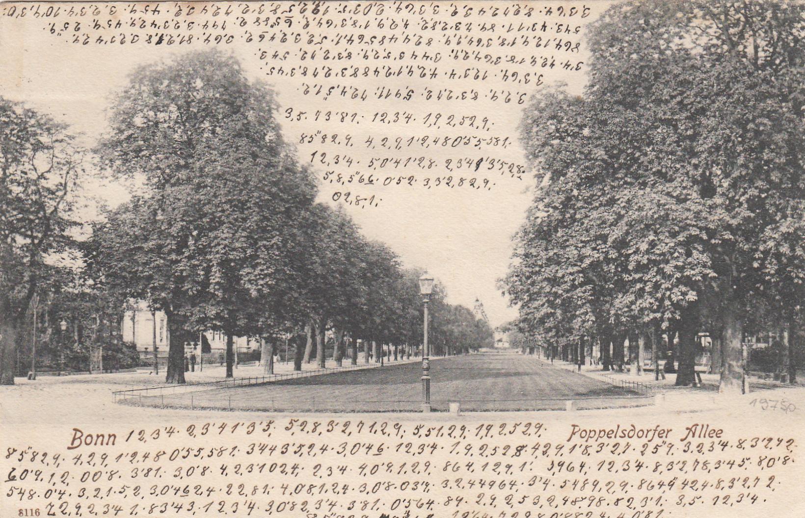 Postkarte-Bonn