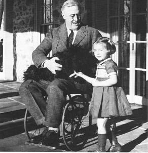 Roosevelt-Wheelchair