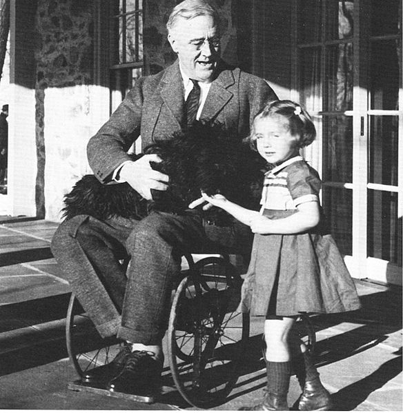 Roosevelt-Wheelchair