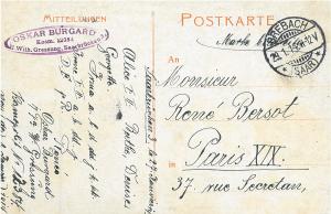 Postcard-Burghard