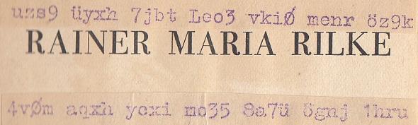 Rilke-bar