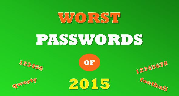 Beliebteste Passwörter