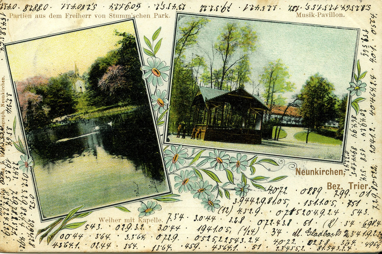 Postcard-Neunkirchen-Hahn