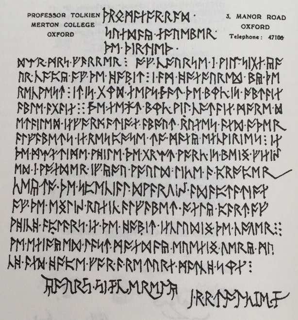 Briefe Von Tolkien : Die verschlüsselten briefe von goethe carroll und tolkien