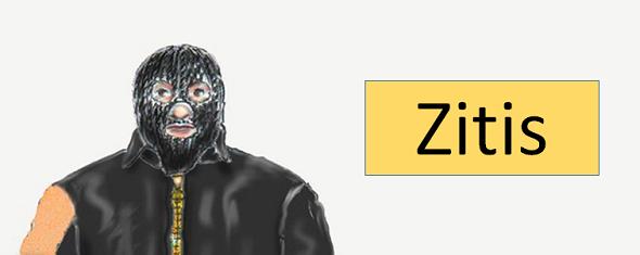 Maskenmann-Zitis