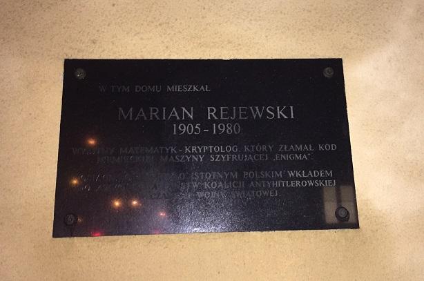 Rejewski-Drygalski-Rozycki-1-Warsaw-Rejewski-Plate
