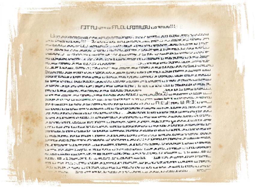 Pigpen-Letter