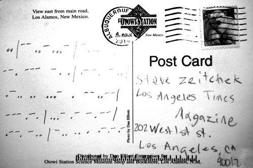 Postcard-Albuquerque