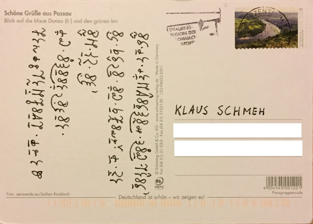 Postcard-Passau