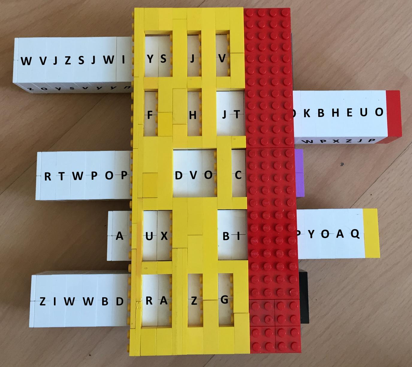 Reihenschieber-Lego-Stencil