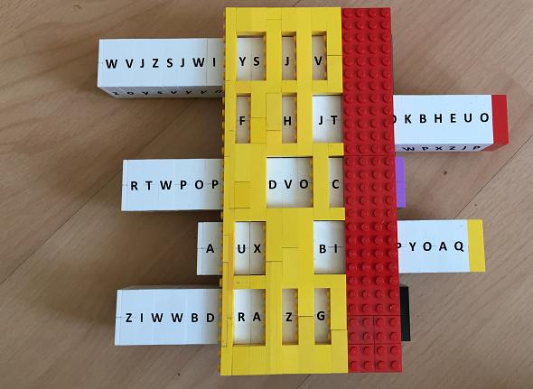 Reihenschieber-Lego-bar