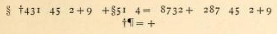 Baring-Gould-Cryptogram