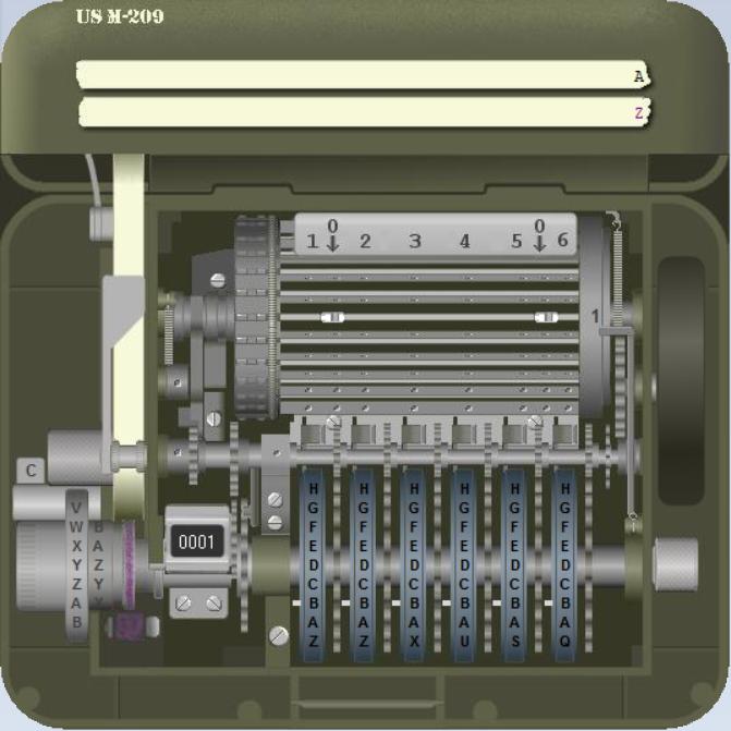 M-209-Simulator