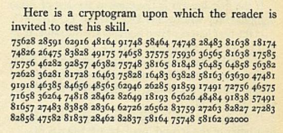 Agapeyeff-cryptogram