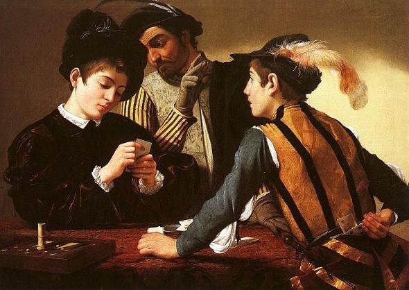 Cardsharp-Caravaggio-bar
