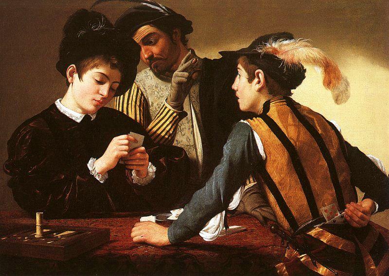 Cardsharp-Caravaggio