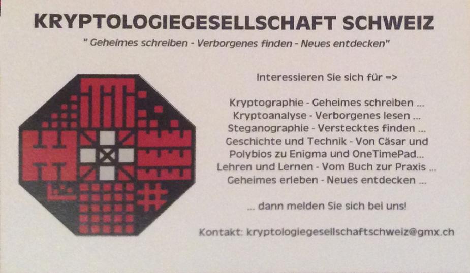 Kryptogesellschaft-Schweiz