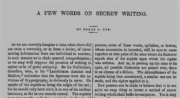 Poe-A-few-words-of