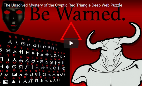 The mystery of the Red Triangle internet puzzle