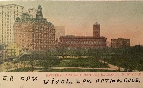 Postcard-New-York-bar