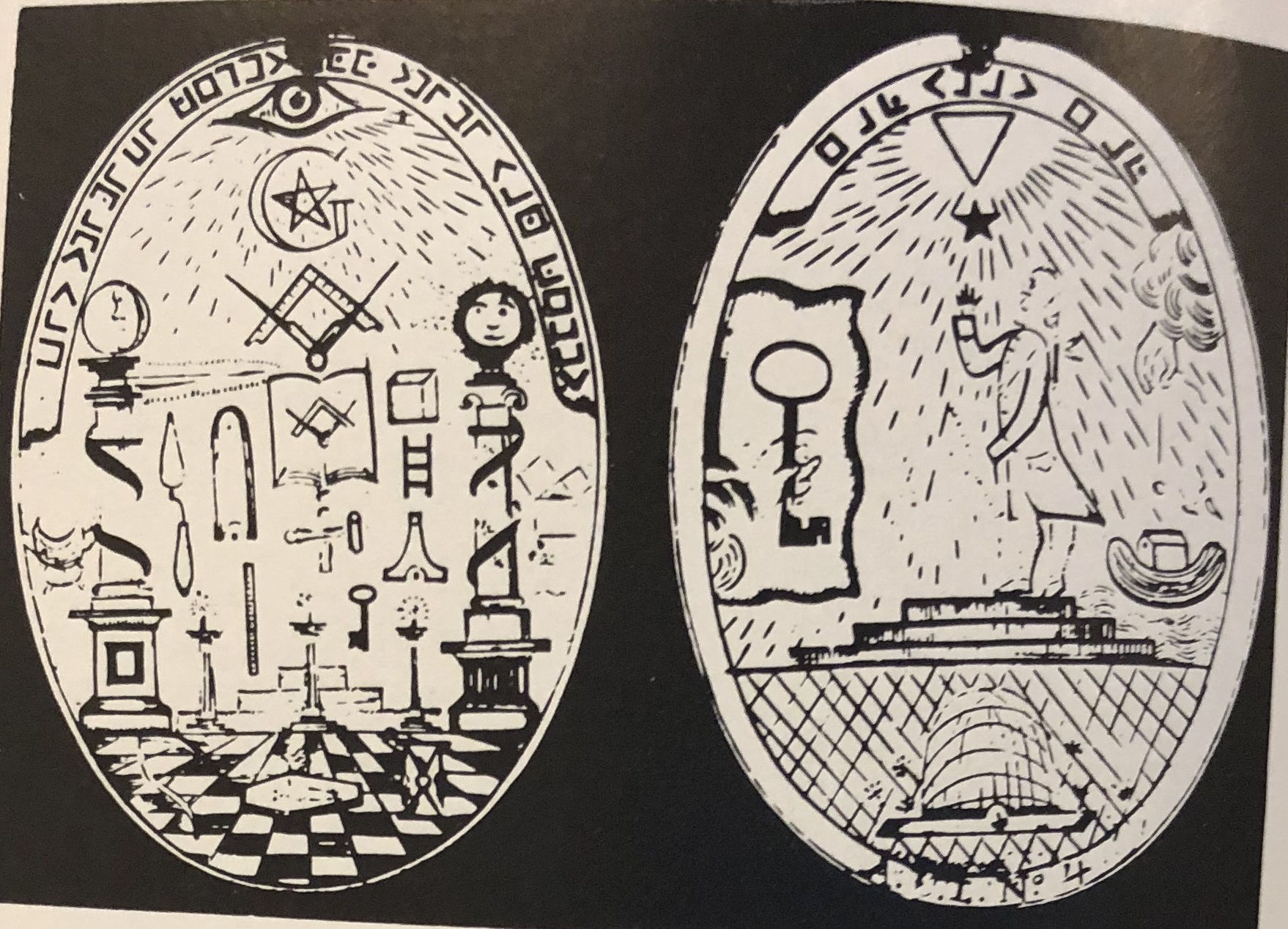 Freemason-Medals