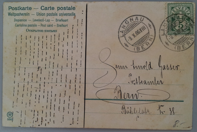 Postcard-Bern