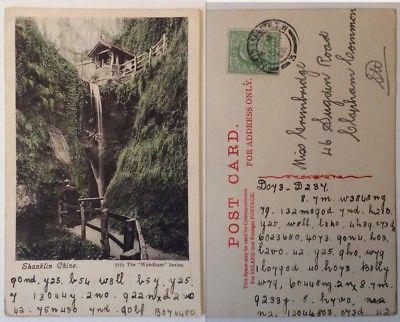 Postcard-Isle-of-Wight-Shanklin-Written-In