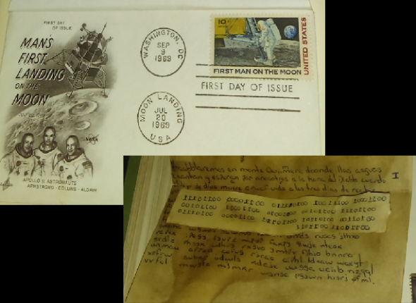 An encrypted letter found in an old stamp album – Klausis