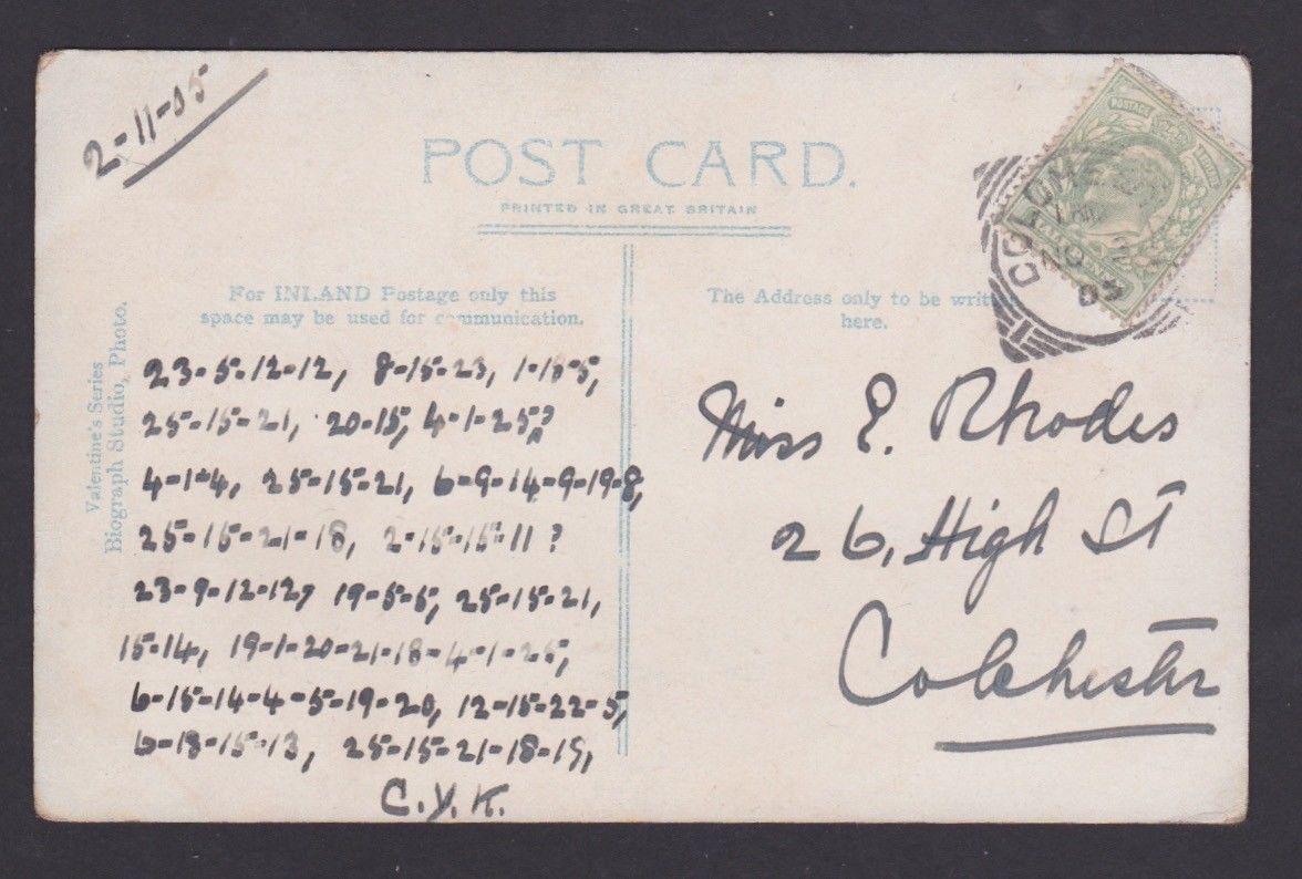 Postcard-Colchester-tex