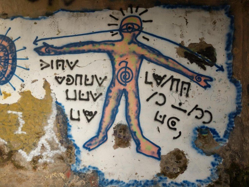 An unsolved Pigpen graffiti [Klausis Krypto Kolumne]