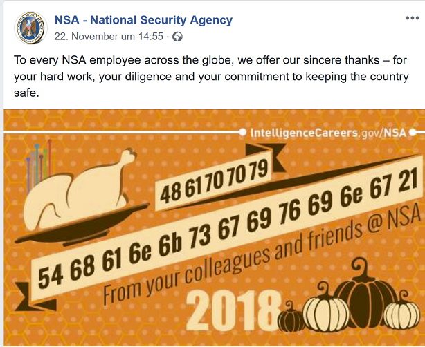 NSA-Thanksgiving-2018