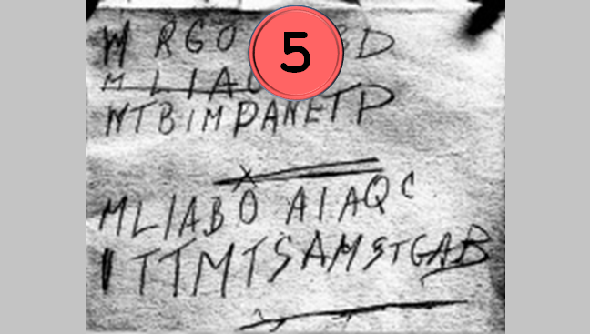 The Top 50 unsolved encrypted messages: 5. The Somerton Man