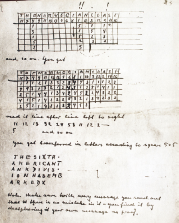 Can you break this WW2 spy cipher? – Klausis Krypto Kolumne