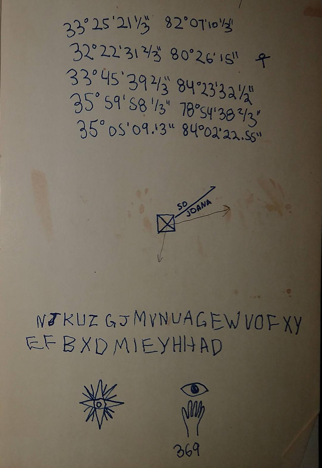 Can you solve these encrypted notes from a travel book
