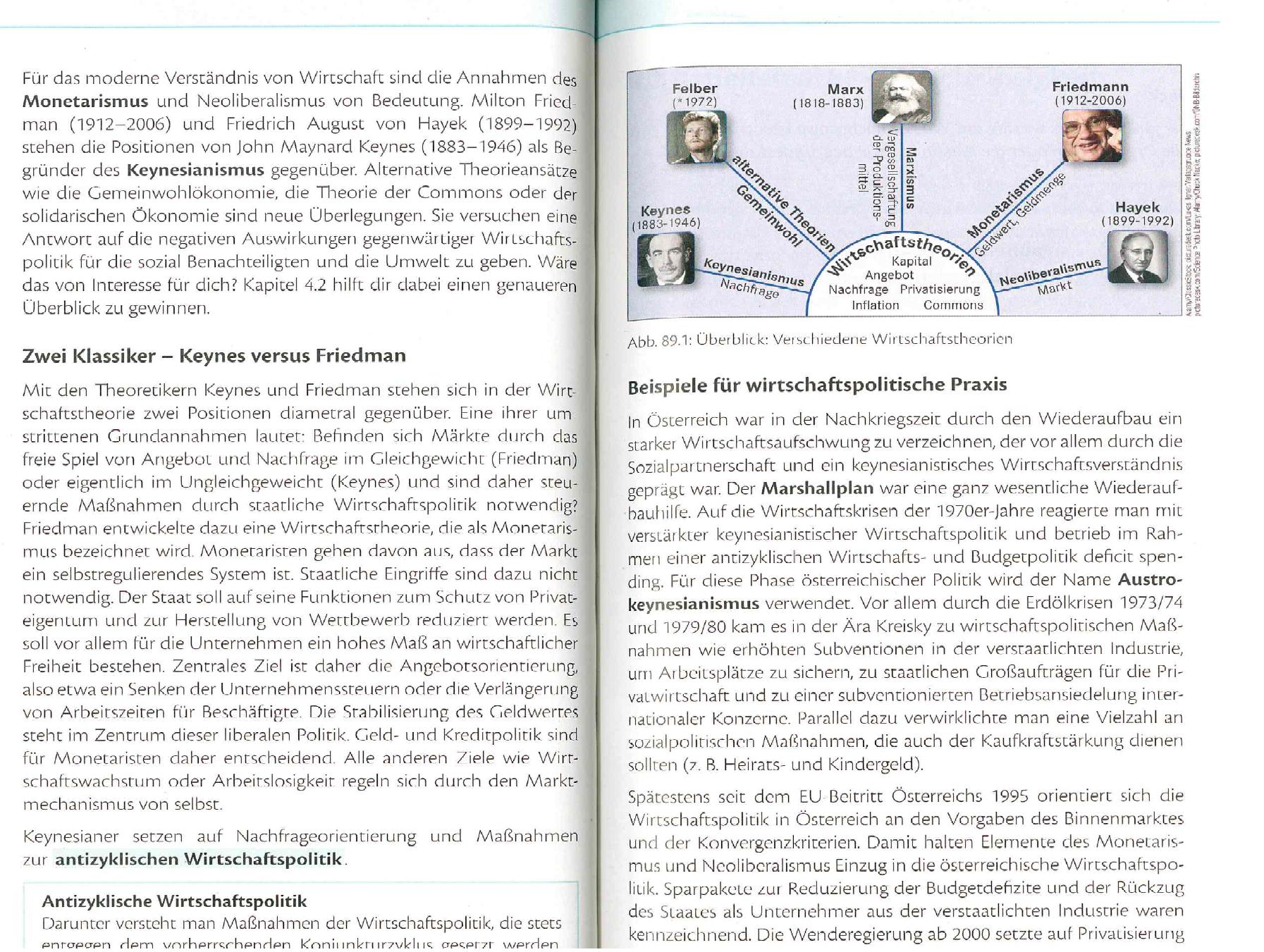 Christian Felber Als Wirtschaftstheoretiker Im Schulbuch Ein