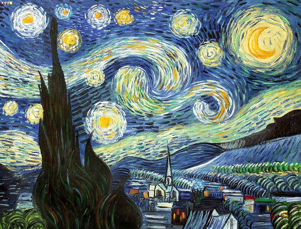 an analysis of van goghs painting the starry night