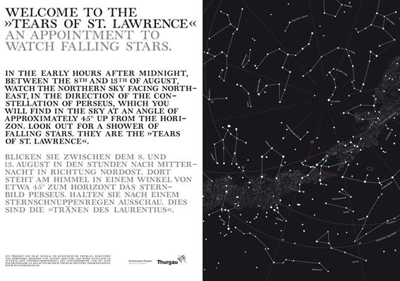 Astronomie und Kunst: Perseidenschauer – die Tränen des heiligen ...