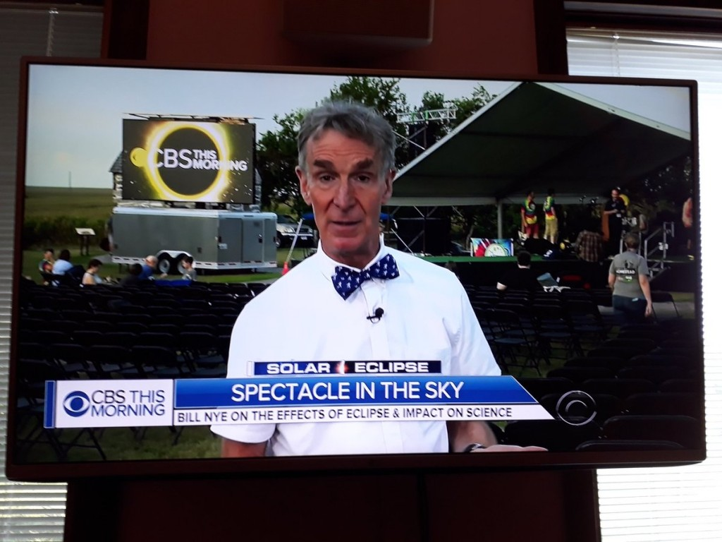 Bill Nye on TV
