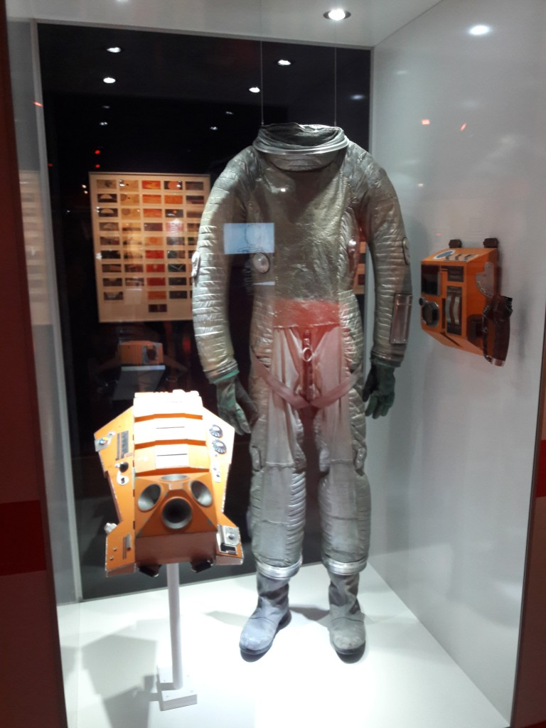 2001 silver space suit