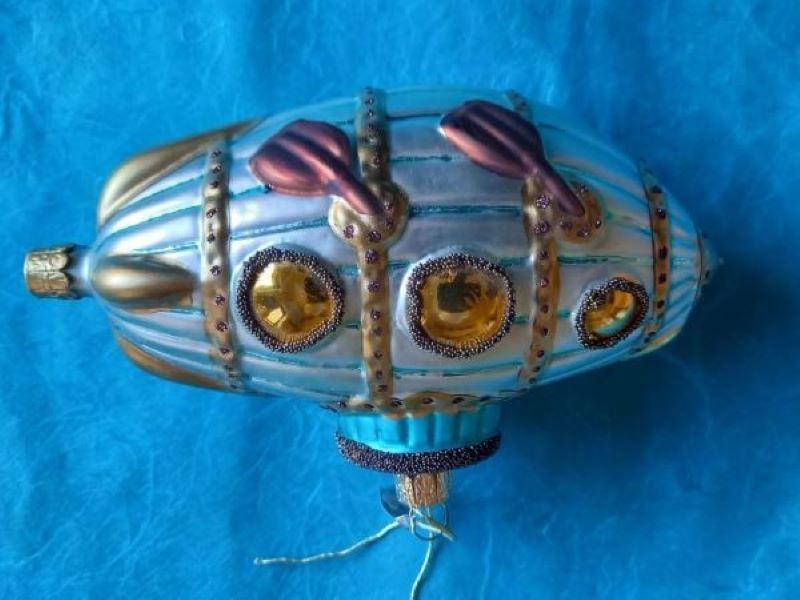 Xmas Ornament SteampunkTauchboot