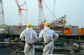 IAEA Mitarbeiter in Fukushima
