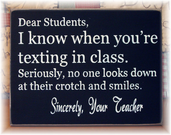 Texting-in-Class