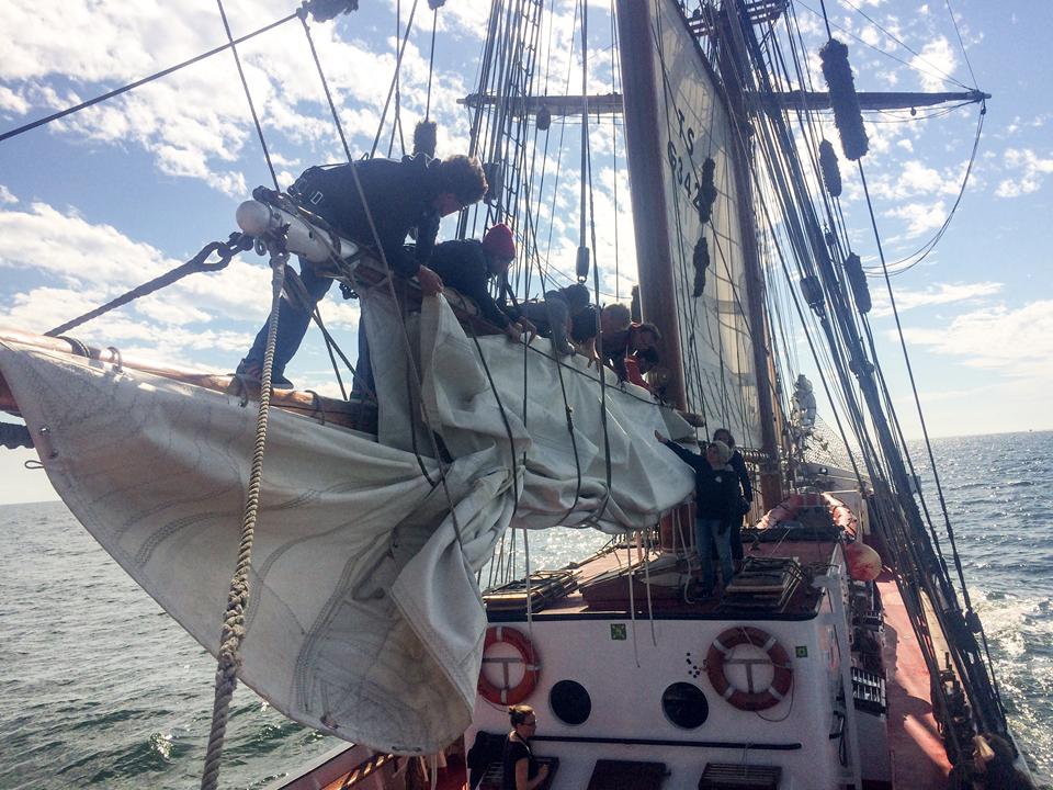 Auf Mast