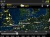 Windströmung am kommenden Samstag, gezeigt mit der App MeteoEarth