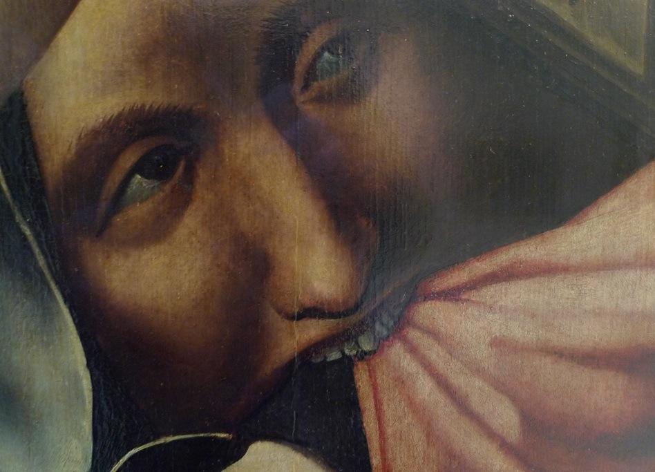 kreuz jesus lächelnd