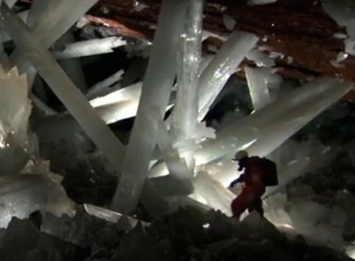 höhle mexiko kristalle