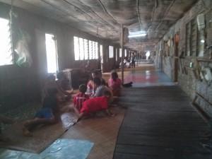 Langhaus in Batang Ai