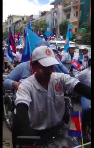 Wahl in Kambodscha
