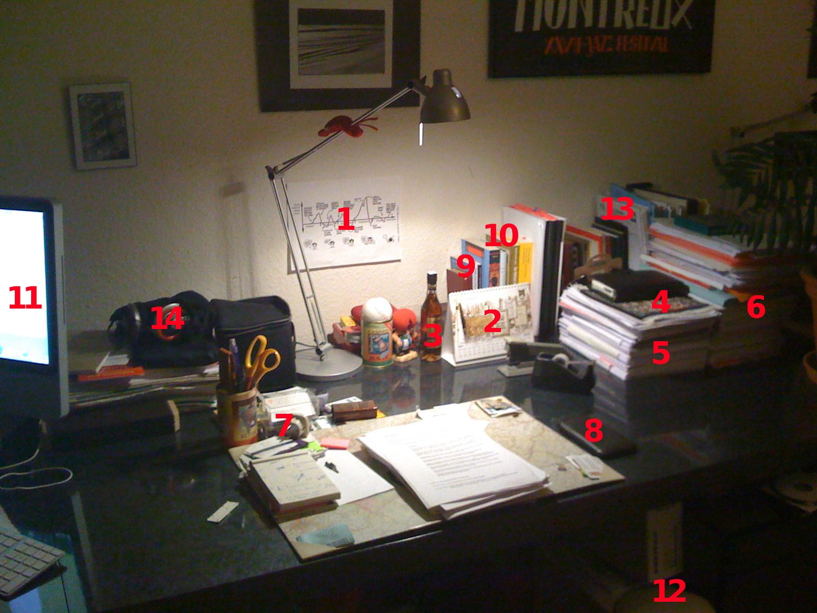 Der Arbeitsplatz Zu Hause: Interior